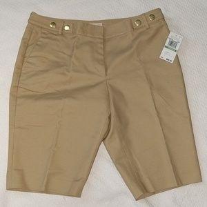 NWT Michael Kors Khaki Shorts
